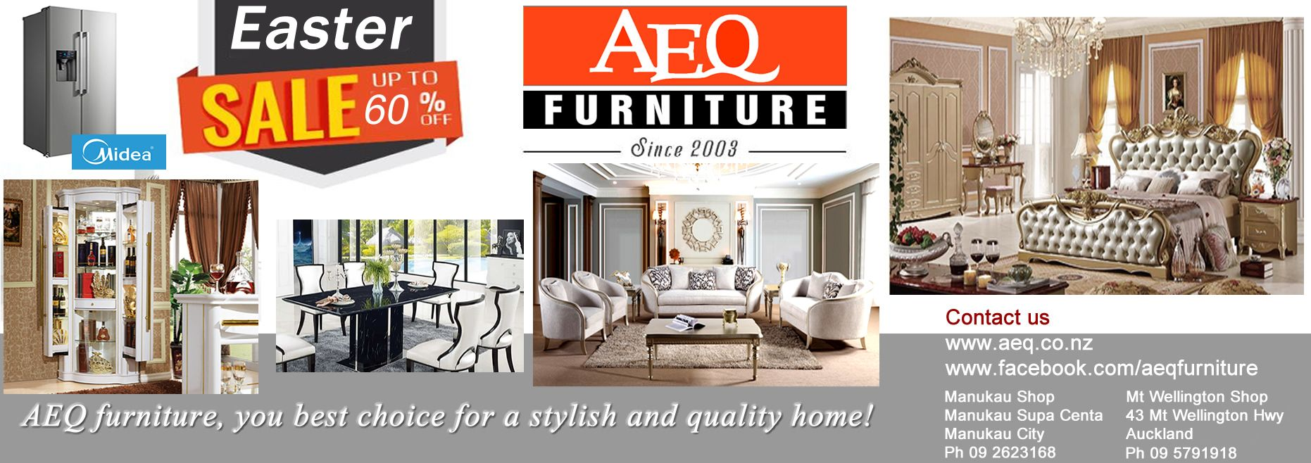 AEQ Furniture (26/03/21 - 03/04/21)