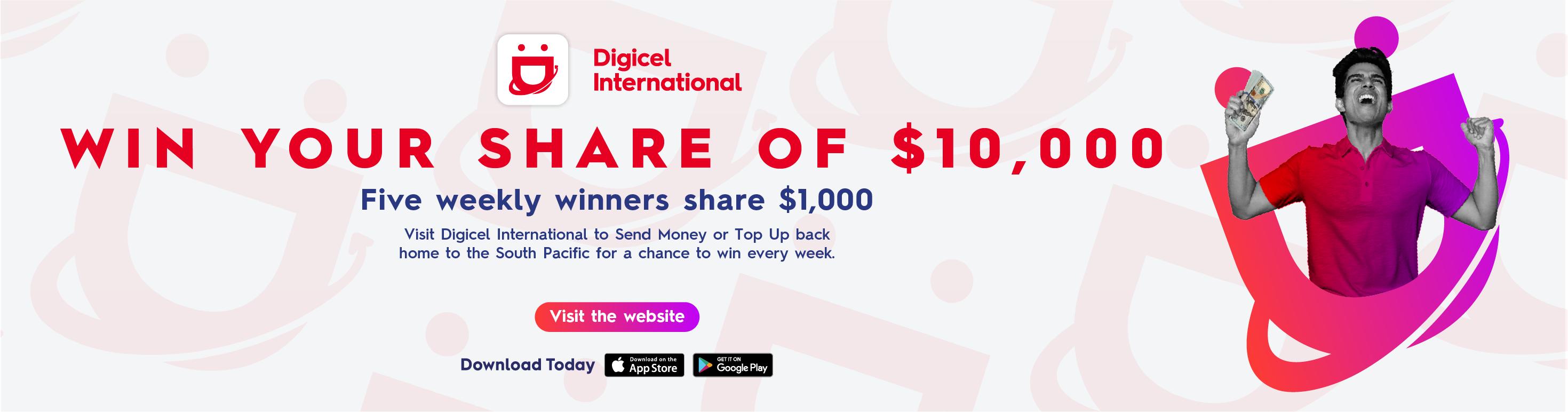 Digicel Top Up & Win (18/01 - 18/03)
